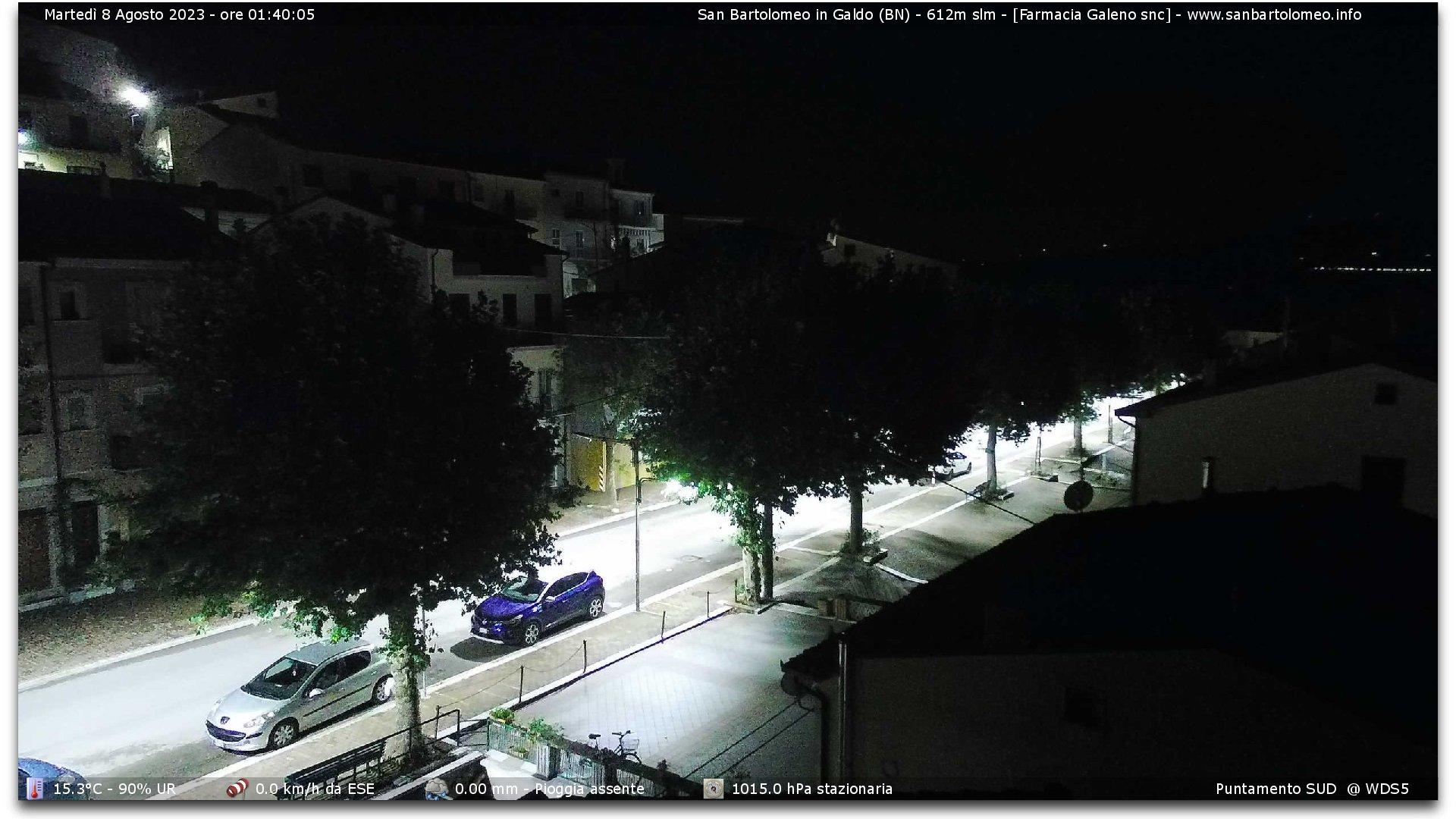 Webcam San Bartolomeo in Galdo - Osservatorio meteorologico di S. Bartolomeo In Galdo